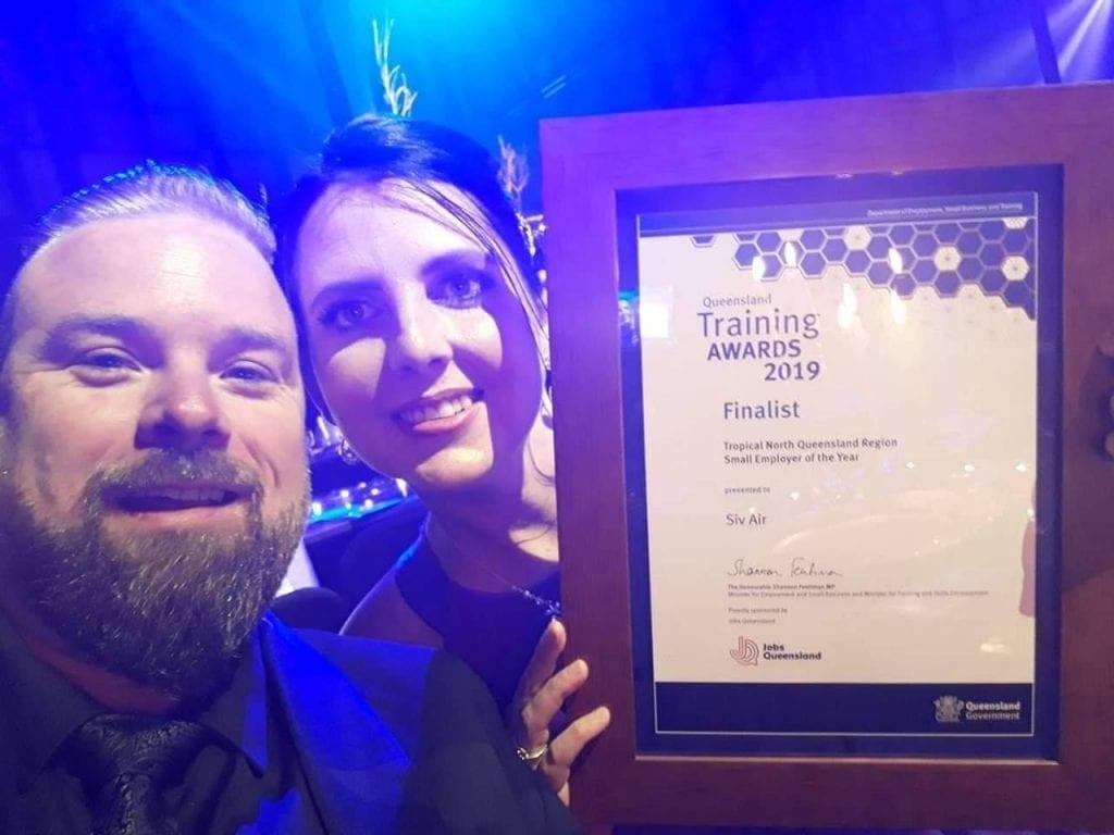 Queensland Training Awards 2019 Award Presentation Siv Air