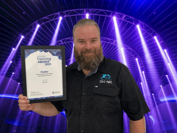 Queensland Training Awards 2020 Award Presentation Siv Air